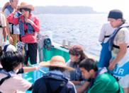 底延縄漁業実習