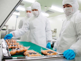数十種類の食肉加工品を製造・販売