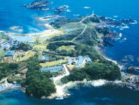風光明媚な海洋資源の実習・研究拠点